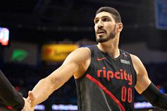 "Enes Kanter Given FBI ""Panic Button"" After Receiving Constant Death Threats"