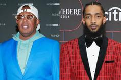 """Master P Shares Snippet of Nipsey Hussle Collaboration """"Street Millionaire"""""""