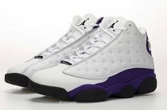 "Air Jordan 13 ""Lakers"" Release Date Revealed, Detailed Images"