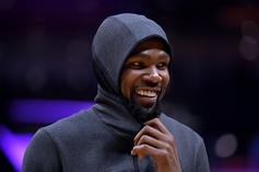 Kevin Durant Will Wear No. 7 With The Brooklyn Nets