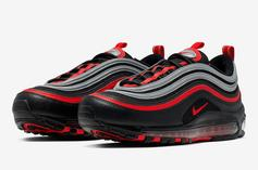 """Nike Air Max 97 """"Bred Reflective"""" Is Available Now: How To Cop"""