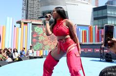Megan Thee Stallion Admires Her Own Curves In Sexy Performance Video