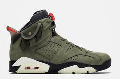 Travis Scott x Air Jordan 6 Rumored Release Details Revealed