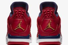 "Air Jordan 4 ""FIBA"" Officially Drops Next Weekend, Official Photos Revealed"