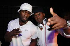 50 Cent & DJ Whoo Kid Were G'D Up In Throwback Pic