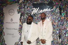 Rick Ross & Dwyane Wade Express Interest In Owning NFL Team Together