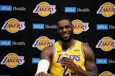 LeBron Drains Half Court Three In Final Seconds Of Lakers Scrimmage: Watch