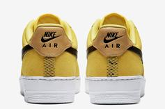 "Nike Air Force 1 Low ""Yellow Snakeskin"" Revealed: Official Images"