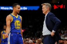 Steve Kerr Reveals When Steph Curry Might Come Back