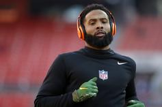 Odell Beckham Jr. Thirsts After His Model GF In IG Comments