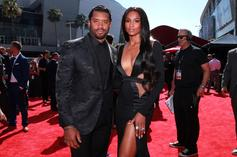 Russell Wilson Saves Ciara From Wardrobe Malfunction