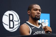 "Kevin Durant Claps Back At ""Sensitive"" Fans On Twitter"