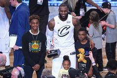 LeBron James' Son Bryce Has Hilarious Impression Of His Dad