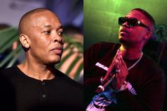 Dr. Dre & Nas Are Cooking Up In The Studio