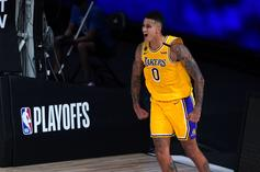 Kyle Kuzma Reacts To Clippers Blowing 3-1 Lead