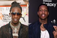 Lil Durk Reveals What He & Young Thug Were Looking At In Popular Meme