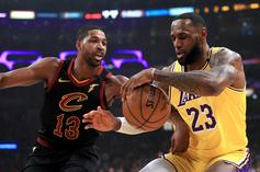 LeBron James Reveals Meet-Up With Tristan Thompson