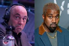 """Joe Rogan On Kanye West For 2024 President: """"He Could Be"""""""