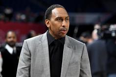 Stephen A. Smith Can't Contain Himself After Cowboys Blowout