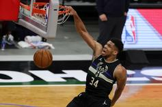Giannis Antetokounmpo Reacts To Being First Pick In All-Star Draft