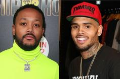 Romeo Miller & Chris Brown Want All The Smoke In 2-On-2 Basketball Game