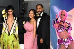 Grammy Awards 2021 Photos: Jhene Aiko & Big Sean Boo'd Up, Lil Baby Takes Mom, Roddy Ricch Goes Solo