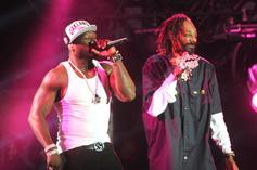 """50 Cent Tried To Stop Snoop Dogg From Smoking Weed On """"BMF"""" Set"""
