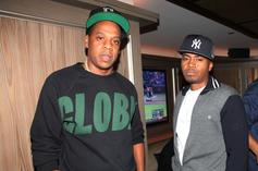 """JAY-Z Unveils Nas Playlist """"Curated By The God Hov"""""""