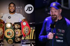 Anthony Joshua & Tyson Fury Fight Date Revealed
