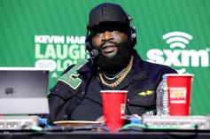 Rick Ross Displays Impressive Punching Power While Boxing