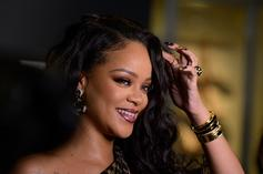 """Rihanna Stuns In Sheer On Her Self-Styled """"Vogue Italia"""" Cover"""