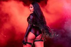 Megan Thee Stallion Wears A White Thong & Nurse Costume In Latest Thirst Trap