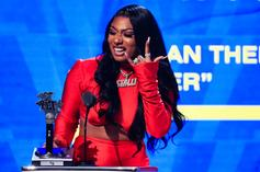 Megan Thee Stallion's Cameraman Holds On For Dear Life While She Twerks