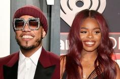 Anderson .Paak Playfully Pushes Up On Dreezy At Diddy's Party