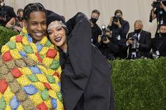 Rihanna & A$AP Rocky Spotted In Harlem For A Late Night Date
