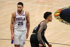 Ben Simmons Misses Yet Another Workout, This Time With Back Issues