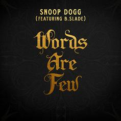 "Snoop Dogg Releases New Song ""Words Are Few"""