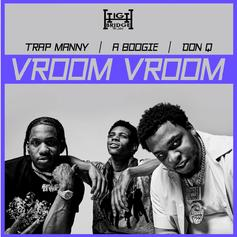"A Boogie Wit Da Hoodie, Don Q, & Trap Manny Bring The Vibes On ""Vroom Vroom"""