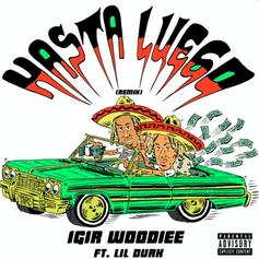 "Lil Durk Lights Up IGIR Woodiee's ""Hasta Luego (Remix)"""
