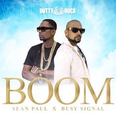 "Sean Paul Taps Busy Signal For ""Boom"" From Forthcoming ""Live N Livin"" Album"