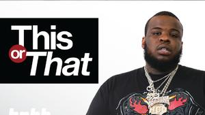 "Maxo Kream Chooses Between Weed & Booze, Drake & Weezy, And More On ""This Or That"""