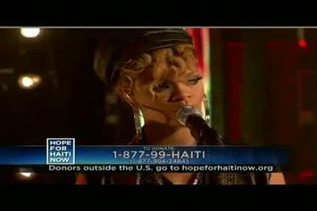 "Jay-Z Feat. Rihanna, Bono and The Edge Stranded ""Haiti Mon Amour - Live On Hope For Haiti Now"" Video"