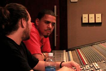 """J. Cole """"In The Studio: The Making Of """"Cole World: The Sideline Story"""""""" Video"""