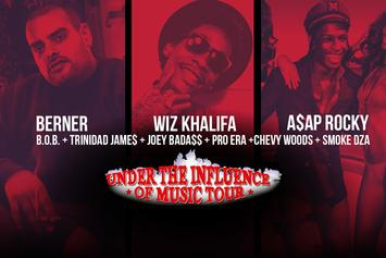 "Exclusive ""Under The Influence"" BTS With Berner, Wiz Khalifa, A$AP Rocky, Trinidad James And More"