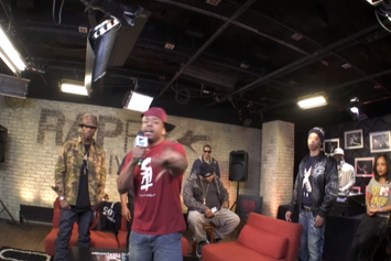 Lil Bibby, B.o.B. & Saigon Freestyle On Rapfix Live