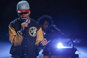 "Chance The Rapper Performs ""Chain Smoker"" Live On Arsenio Hall"