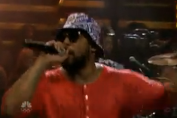 "ScHoolboy Q Performs ""Man Of The Year"" On Fallon"