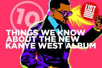 10 Things We Know About The New Kanye West Album