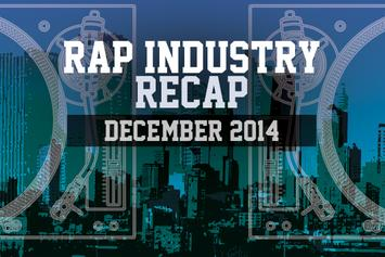 Rap Industry Recap: December