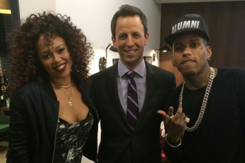 "Kid Ink Performs ""Hotel"" & ""Body Language"" on Seth Meyers"
